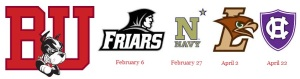 BU LAX announces four games