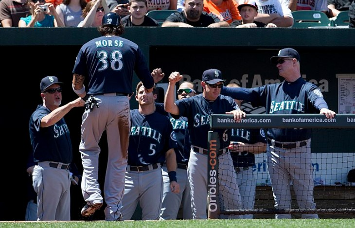 Seattle Mariners at Baltimore Orioles August 4, 2013