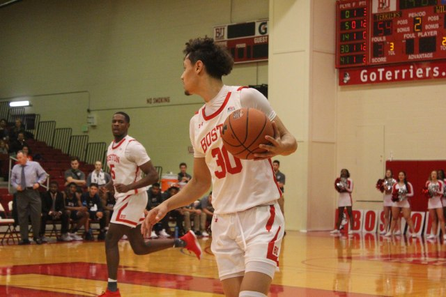 Men's Basketball: Terriers stymied by West Virginia's defense in loss